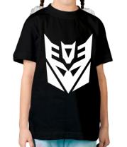 Детская футболка   Decepticons logo