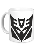 Кружка  Decepticons logo