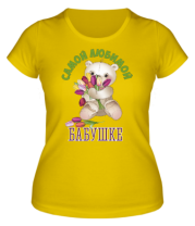 Женская футболка  Любимая мамочка