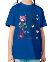 Детская футболка  Все девченки клевые