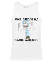 Мужская майка Rick and Morty Русская версия