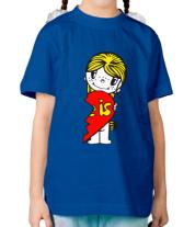 Детская футболка  Love is... женская