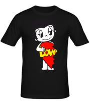 Мужская футболка  Love is... мужская