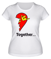 Женская футболка  Love is...Together