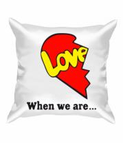 Подушка Love is...Together