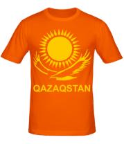Мужская футболка  QAZAQSTAN