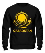 Толстовка без капюшона QAZAQSTAN
