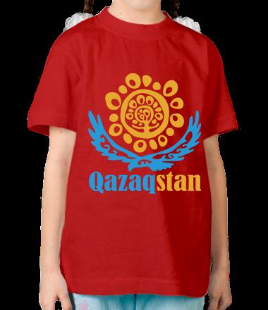 Детская футболка  QAZAQSTAN