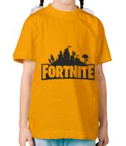 Детская футболка  Fotrnite