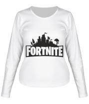 Женская футболка с длинным рукавом Fotrnite