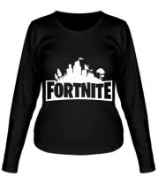Женская футболка длинный рукав Fotrnite