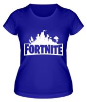 Женская футболка  Fotrnite
