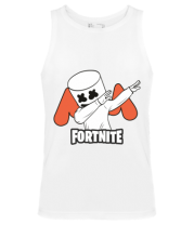 Мужская майка Dj Marshmello fortnite dab