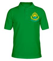 Футболка поло мужская Qazaqstan