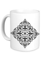 Кружка Казахский орнамент