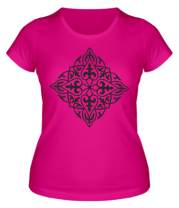 Женская футболка  Казахский орнамент