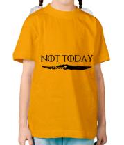 Детская футболка   Game of Thrones: not today
