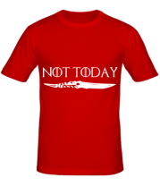 Мужская футболка   Game of Thrones: not today