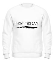 Толстовка без капюшона  Game of Thrones: not today