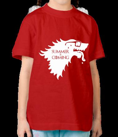 Детская футболка  Summer is coming