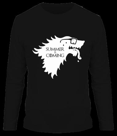 Мужская футболка с длинным рукавом Summer is coming
