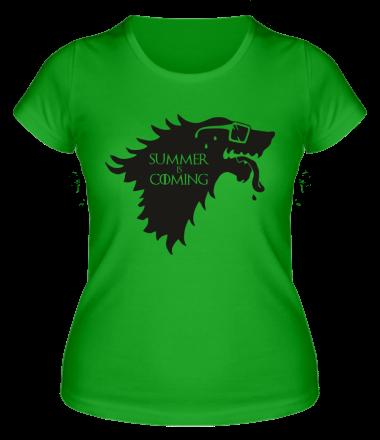 Женская футболка Summer is coming