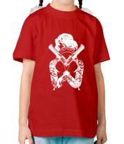 Детская футболка  Marilyn Monroe Gangster