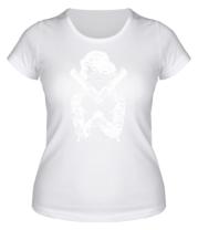 Женская футболка  Marilyn Monroe Gangster