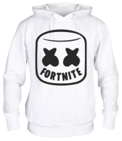 Толстовка Marshmello and Fortnite