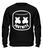 Толстовка без капюшона Marshmello and Fortnite