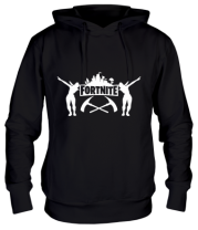 Толстовка Fortnite dancing logo