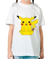 Детская футболка  Pika