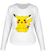 Женская футболка с длинным рукавом Pika