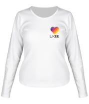 Женская футболка с длинным рукавом Likee