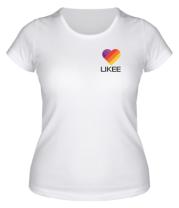Женская футболка  Likee