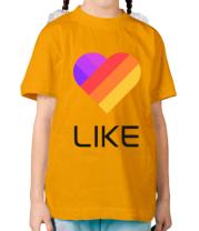 Детская футболка Likee mobile app