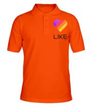 Футболка поло мужская Likee mobile app