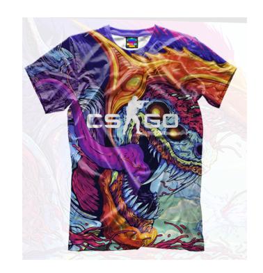 Детская футболка 3D CS GO