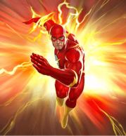 Женская футболка 3D Flash