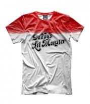Детская футболка 3D Daddy's Lil Monster