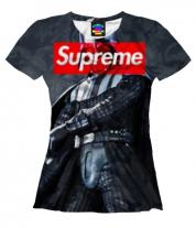 Женская футболка 3D Дарт Вейдер Supreme