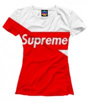 Женская футболка 3D Supreme