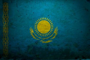 Женская футболка 3D Казахстан флаг