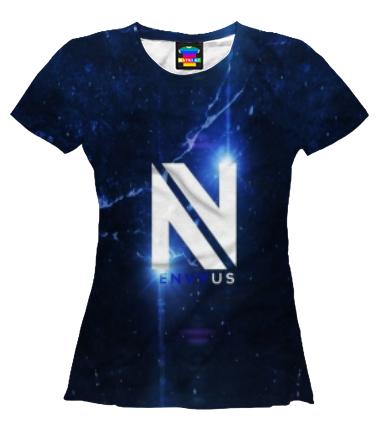 Женская футболка 3D Лионель Месси