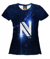 Женская футболка 3D cs:go - EnVyUs
