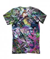 Детская футболка 3D Рик и Морти
