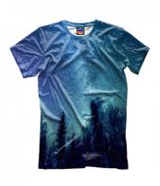 Детская футболка 3D Звездная даль