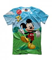 Детская футболка 3D Mickey Mouse