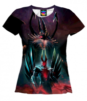 Женская футболка 3D Awesome Dota 2