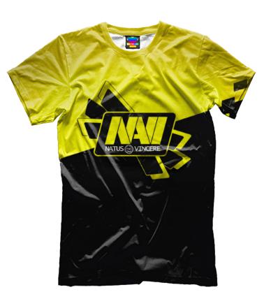 Мужская футболка 3D Navi Dota2